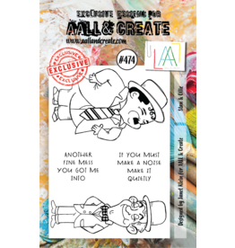 Aall& Create Aall & Create  A7  stamps #474