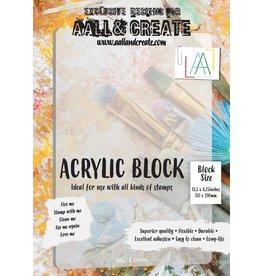 Aall& Create Aall & Create  A4  acrylic block