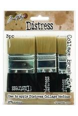 Ranger Ranger Tim Holtz Distress Collage Brush 3 Pack TDA50896