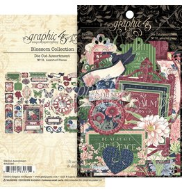 Graphic 45 Grapic45 Blossom diecut assortiment