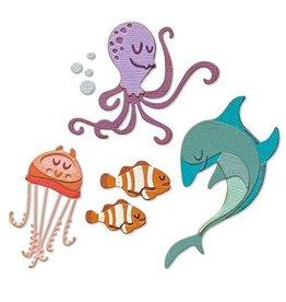 Sizzix Sizzix Thinlits Die Set - Under the Sea #1 Colorize 22PK 665377 Tim Holtz
