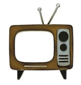 Sizzix Sizzix Bigz Die - Retro TV 665371 Tim Holtz