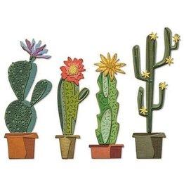 Sizzix Sizzix Thinlits Die Set - Funky Cactus 9PK 665365 Tim Holtz