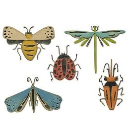 Sizzix Sizzix Thinlits Die Set - Funky Insects 5PK 665364 Tim Holtz
