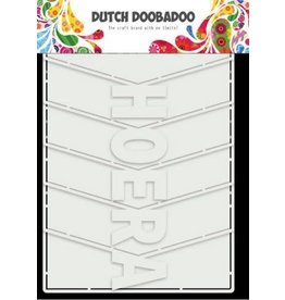 Dutch Doobadoo Dutch Doobadoo Dutch Card Art Hoera Album 6 St (NL) 470.713.857 21x14,8cm