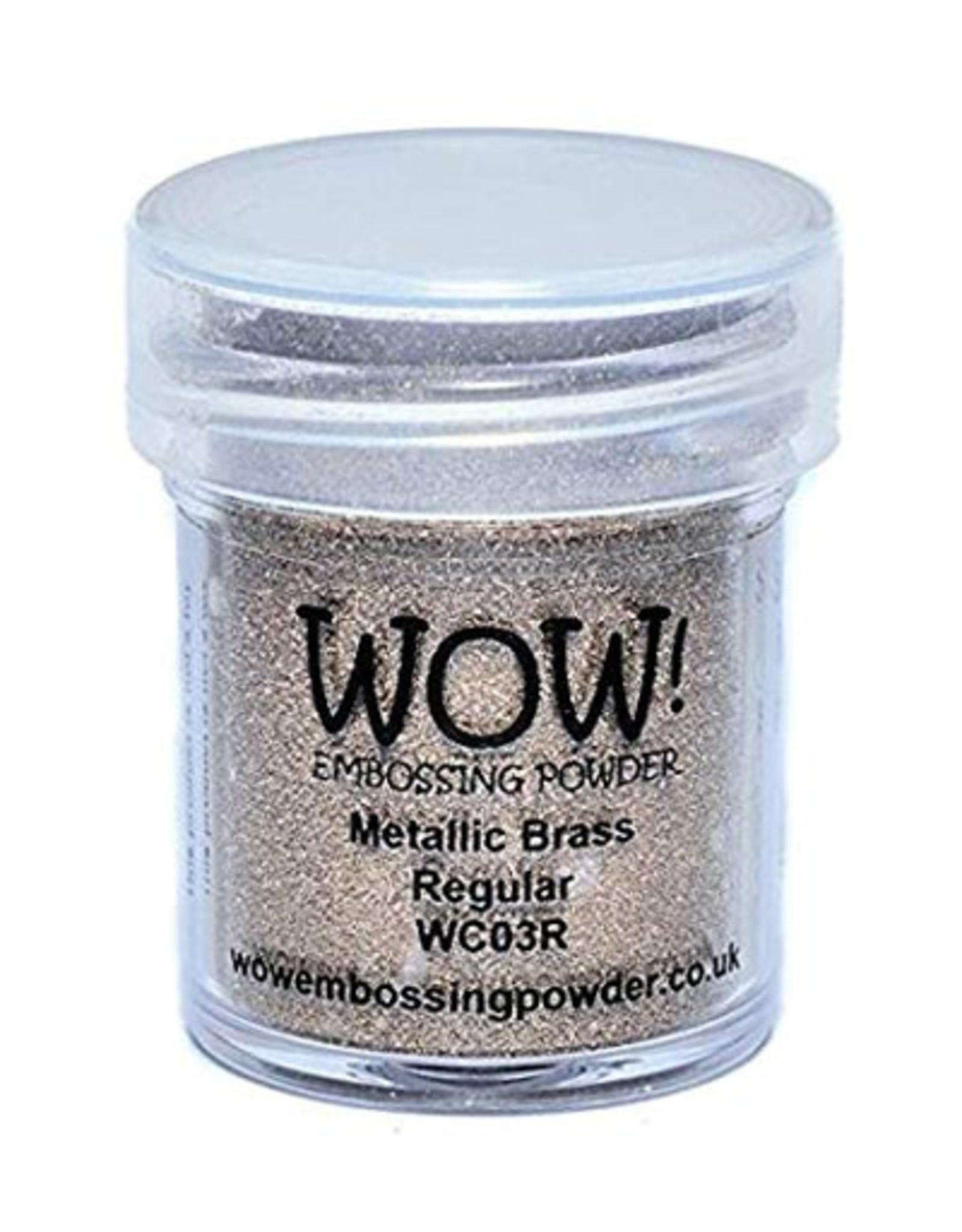 Wow Wow! Metallic Colours Brass (goud)  regular 15 ml
