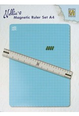 Nellie's Choice Nellie's Choice Magnetic Ruler set MAGM001 A4