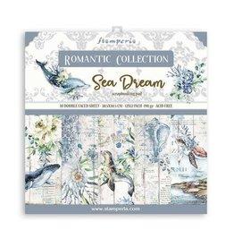 Stamperia Stamperia Romantic Sea Dream 12x12 Inch Paper Pack (SBBL87)