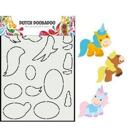 Dutch Doobadoo Dutch Doobadoo Dutch Card Art Built up Paard A5 470.713.865 210x148,55mm