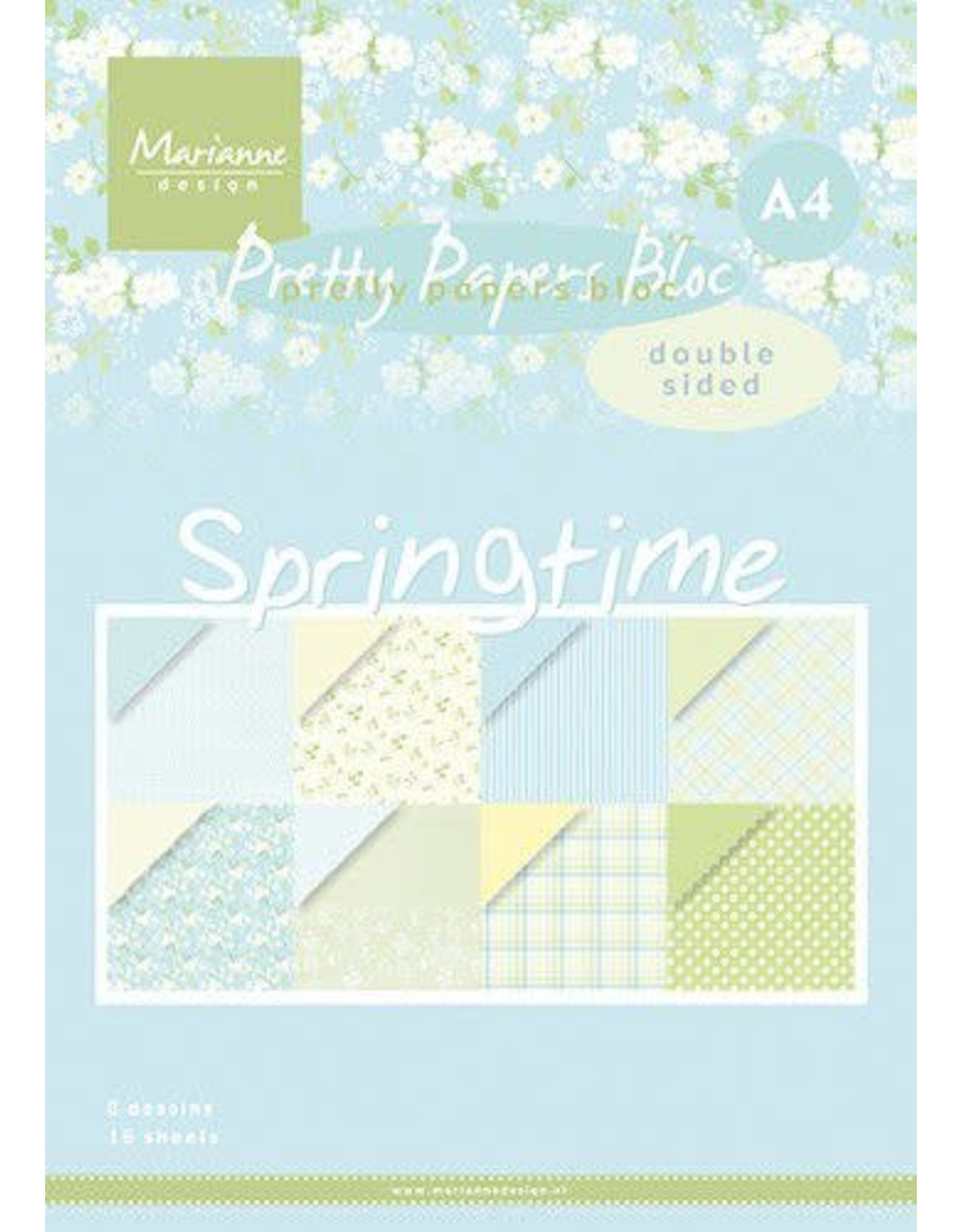 Marianne Design Marianne D Paper pad Springtime PK9174 A4