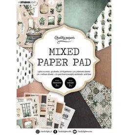 Studio Light Studio Light Mixed Paper Pad Pattern paper Essentials nr.157 A5MPPSL157 A5