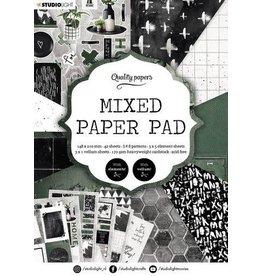 Studio Light Studio Light Mixed Paper Pad Pattern paper Essentials nr.161 A5MPPSL161 A5