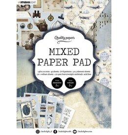 Studio Light Studio Light Mixed Paper Pad Pattern paper Essentials nr.162 A5MPPSL162 A5