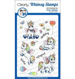 Whimsy Stamps Whimsy Stamps Unicorn Wishes clearstamps
