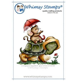 Whimsy Stamps Whimsy Stamps  I Will Carry You Rubber Cling Stamp