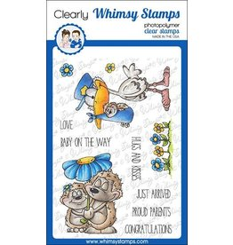 Whimsy Stamps Whimsy Stamps Hedgie Love Clear Stamps