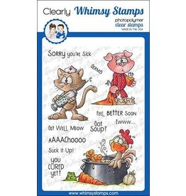 Whimsy Stamps Whimsy Stamps  Get Well Clear Stamps