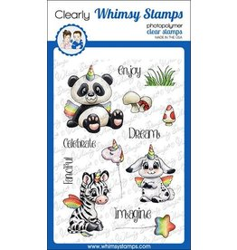 Whimsy Stamps Whimsy Stamps Crittercorns Clear Stamps