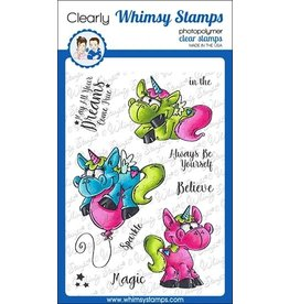 Whimsy Stamps Whimsy Stamps Unicorn Magic Clear Stamps