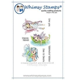 Whimsy Stamps Whimsy Stamps Fairy Dreams Rubber Cling Stamp