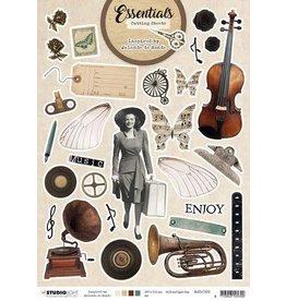 Studio Light Studio Light Cutting Sheet By Jolanda de Ronde nr.02 BJ-ES-CS02 A4