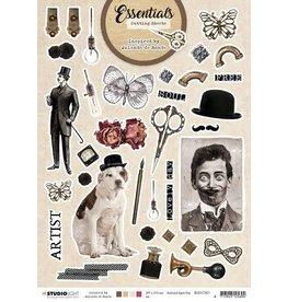 Studio Light Studio Light Cutting Sheet By Jolanda de Ronde nr.01 BJ-ES-CS01 A4