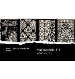 Studio Light Studio Light by Jolanda de Ronde mask stencils actieset