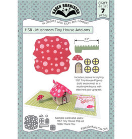 Karen Burniston Karen Burniston Mushroom Tiny House Add on 1158