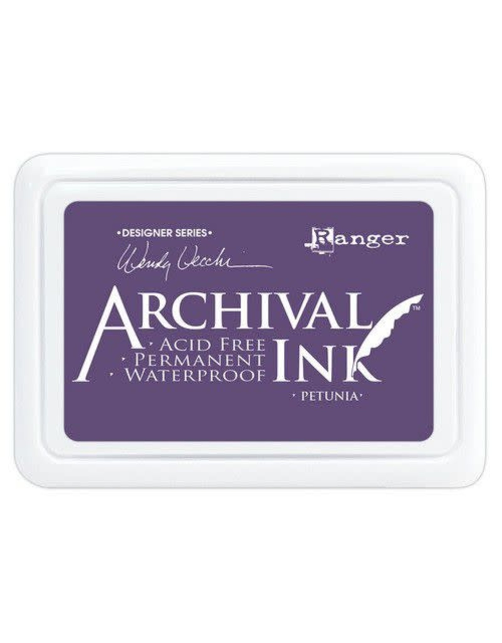 Ranger Ranger Archival Ink pad - Petunia AID74021 Wendy Vecchi