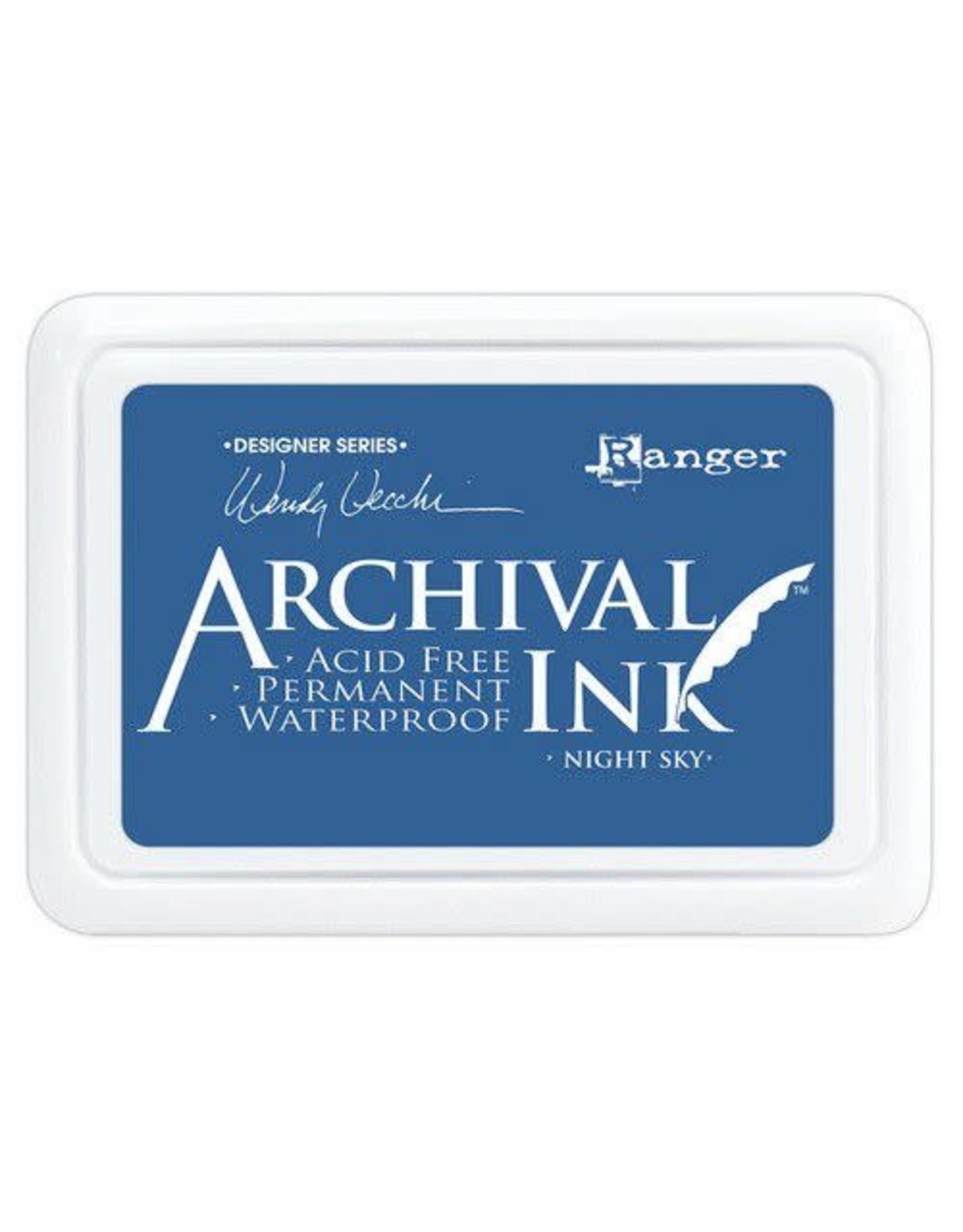 Ranger Ranger Archival Ink pad - Night Sky AID74007 Wendy Vecchi