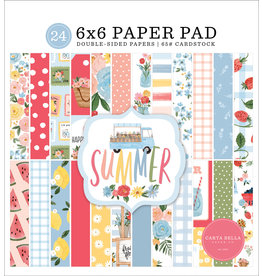 "Carta Bella Carta Bella  Summer paper pad  6""x 6""(15 x 15  )"