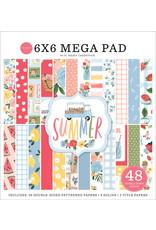 """Carta Bella Carta Bella  Summer Mega pad  6""""x 6""""(15 x 15  )"""