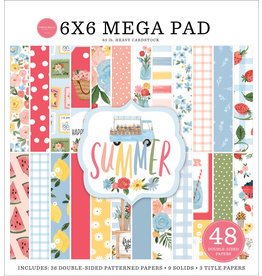 "Carta Bella Carta Bella  Summer Mega pad  6""x 6""(15 x 15  )"