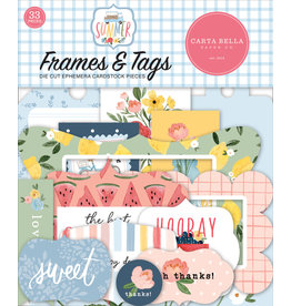 Carta Bella Carta Bella Summer Frames & Tags