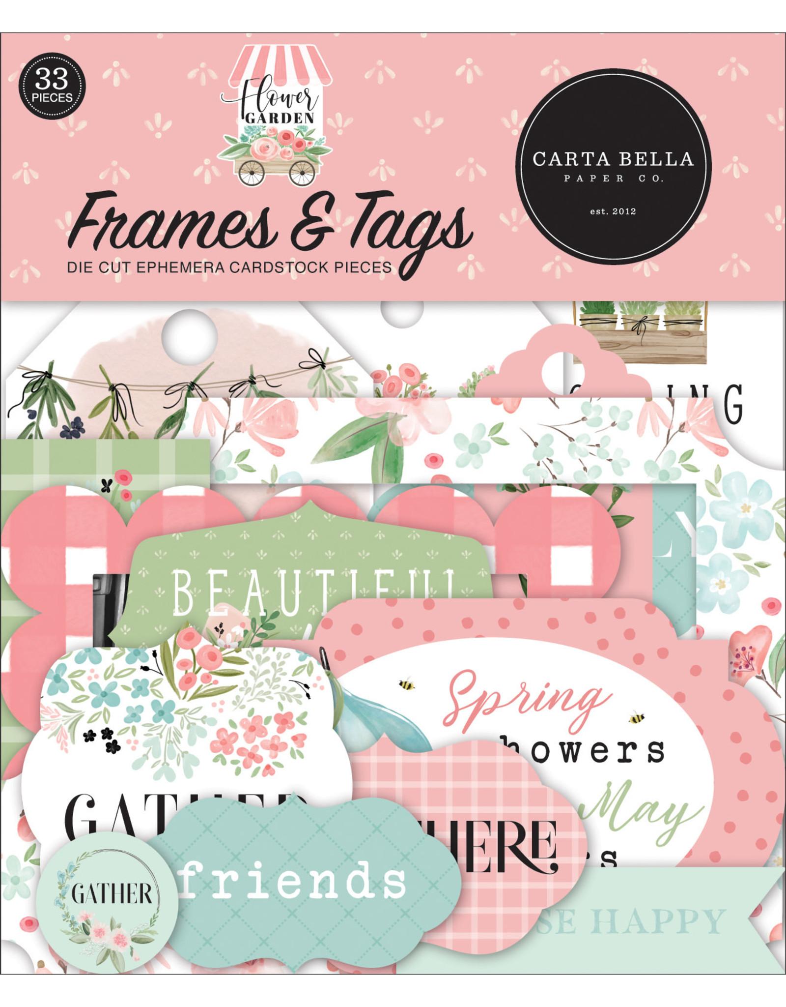 Carta Bella Carta Bella Flower Garden Frames & Tags