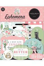 Carta Bella Carta Bella Flower Garden Ephemera