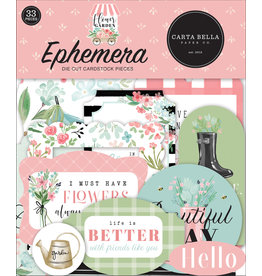 Carta Bella Carta Bella Flower Garden Ephemera