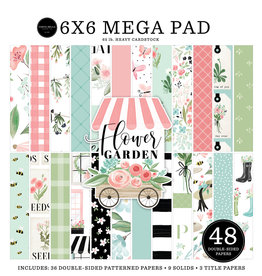 Carta Bella Carta Bella Flower Garden 6x6 Inch Cardmakers Mega Pad