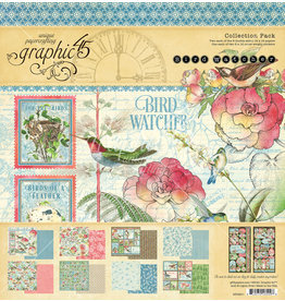 Graphic 45 Graphic 45  Bird Watcher  Collection Pack 12 x 12