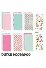 Dutch Doobadoo Dutch Doobadoo Crafty Kit Slimline Giraffe 473.005.009 21x10,5cm