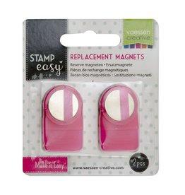Vaessen Creative Vaessen Creative • Stamp Easy Reserve magneten 2 stuks