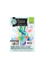Vaessen Creative Florence • Aquarelpapier A5 texture White 300gr 15vellen
