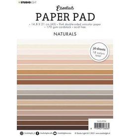 Studio Light Studio Light Paper pad Essentials Naturals nr.6 SL-ES-PP06 A5