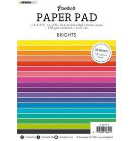 Studio Light Studio Light Paper pad Essentials Brights nr.4 SL-ES-PP04 A5