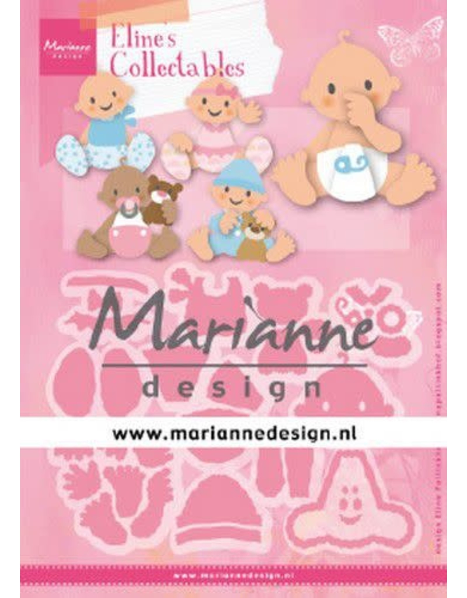 Marianne Design Marianne D Collectable Eline's baby's COL1479 112x97,5mm