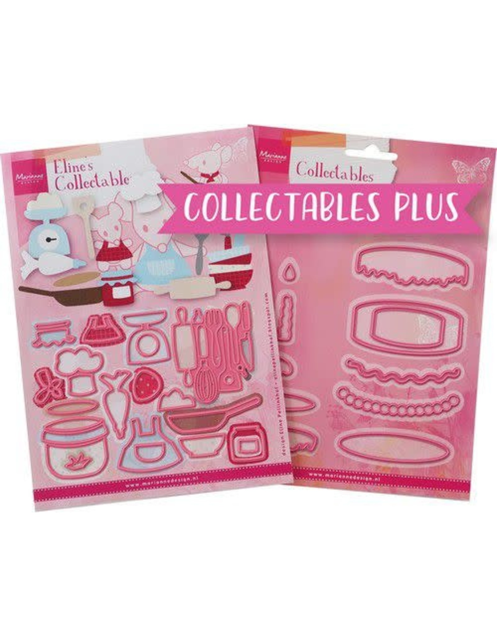 Marianne Design Marianne D Collectable plus Collectable plus - Baking Fun PA4129 COL1493 - COL1322