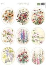 Marianne Design Marianne D Decoupage Mattie's Mooiste - Veldboeket ovaal MB0194 A4