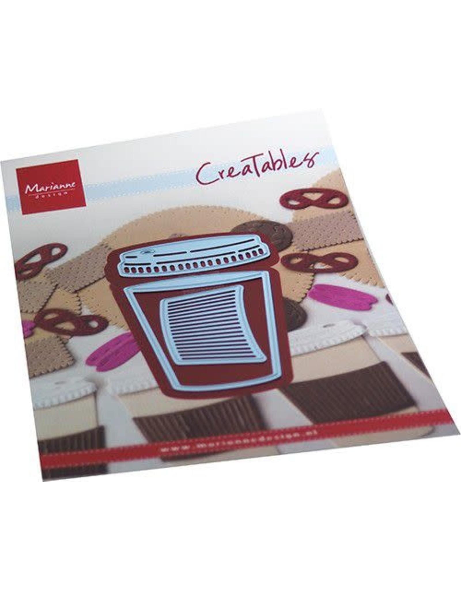 Marianne Design Marianne D Creatable Koffie voor onderweg LR0714 43x57mm