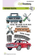 Craft Emotions CraftEmotions clearstamps A6 - Cars Carla Creaties