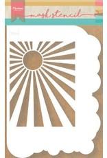 Marianne Design Marianne D stencils wolken & zonnestralen PS8024 149x210mm